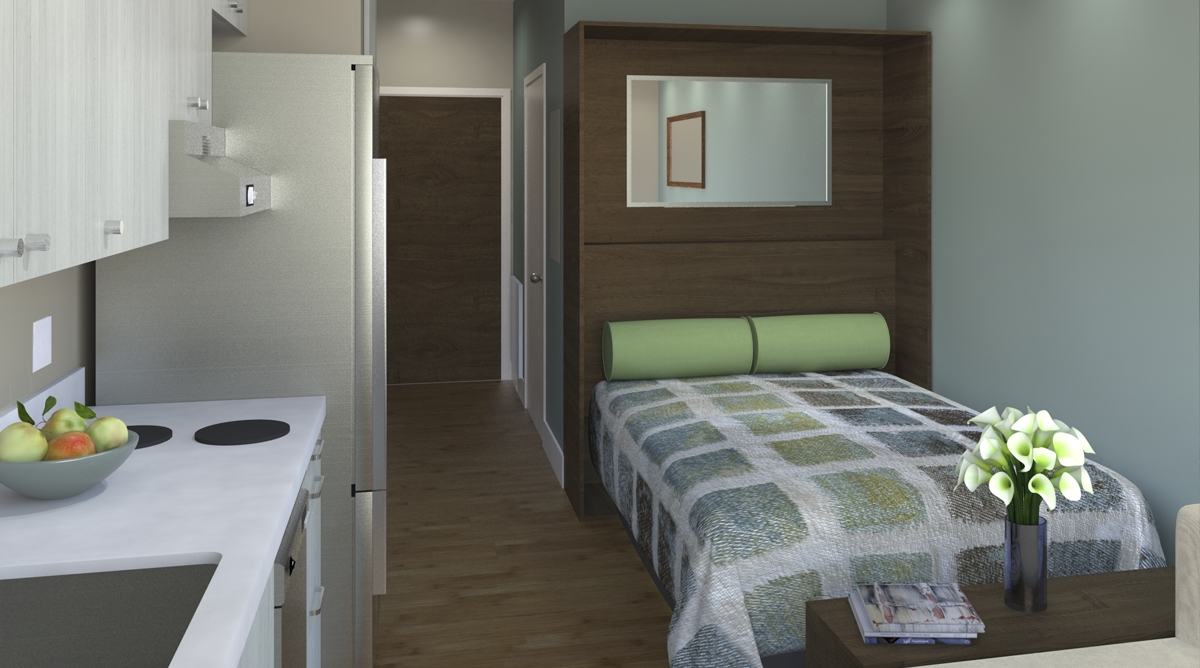 student apartment smallest new york apartments. Some US cities like San Francisco  New York backyard cottage Intentionally Small