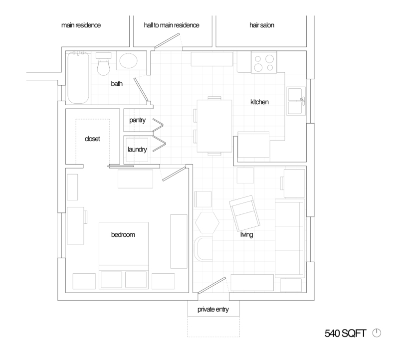 convert detached garage to living quarters joy studio design gallery best design. Black Bedroom Furniture Sets. Home Design Ideas