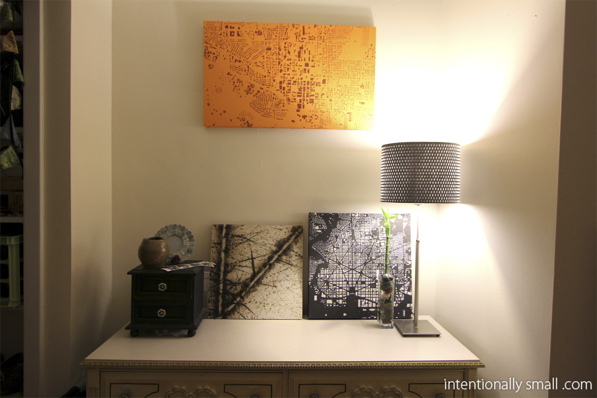 Small accent lamp - Lighting A Small Space Accent Lamps