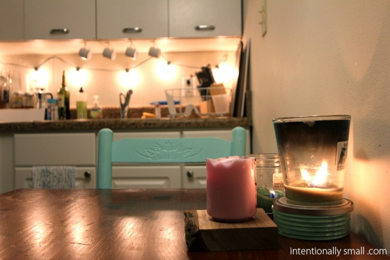Lighting a Small Space - Candles
