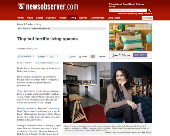 "The News & Observer ""Tiny but terrific"" with Nicole Alvarez 3"