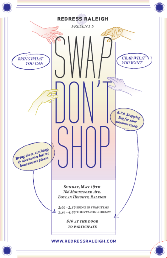 Redress Raleigh - Swap Don't Shop 05-19-13