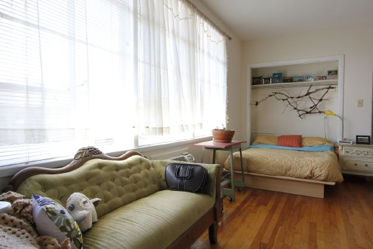 Apartment Therapy Small Cool Contest 2012 - Nicoles Daily Inspiration 306 sqft