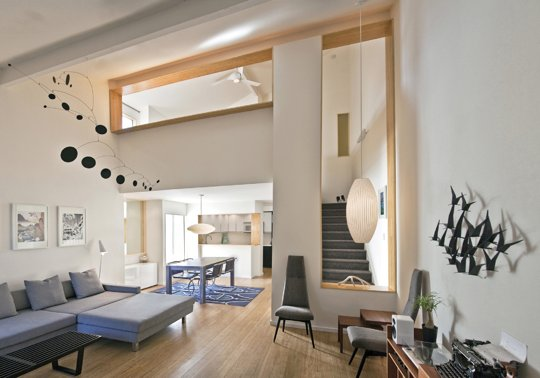 Apartment Therapy Small Cool Contest 2013 - Audreys Architectural Interest 914 sqft