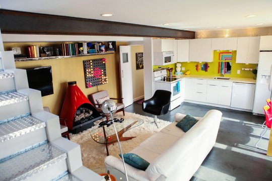 Apartment Therapy Small Cool Contest 2013 - Daniels Square Footage Challenged 720 sqft