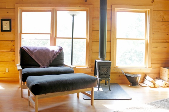 830 sqft Cabin in the Woods 01