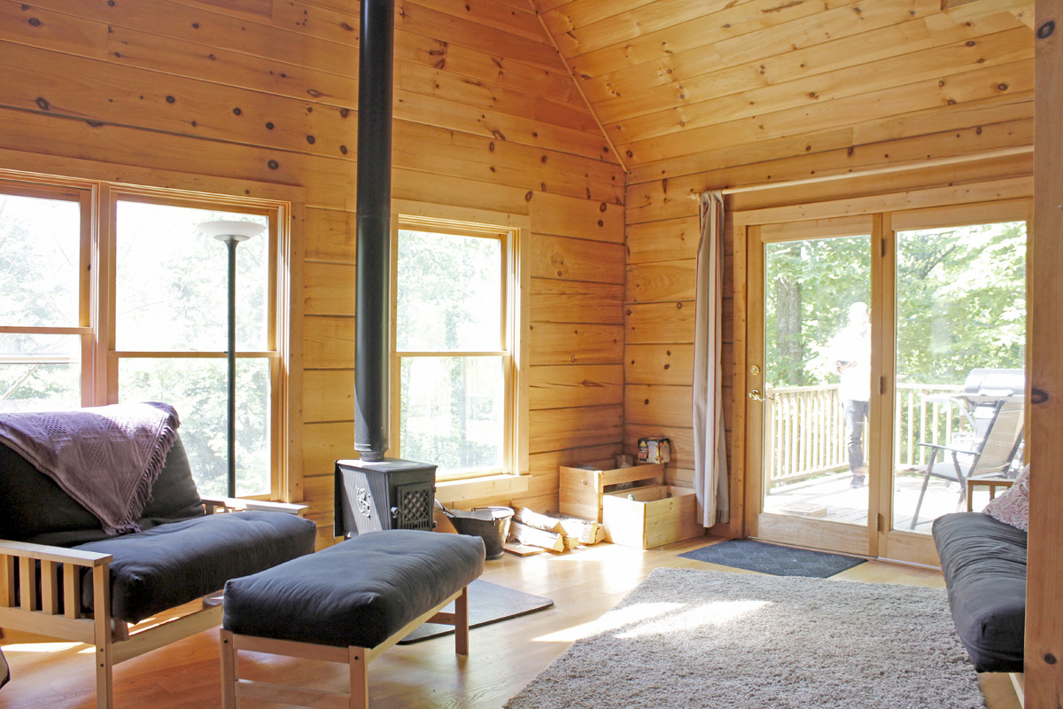 830 Sqft Cabin In The Woods Intentionally Small