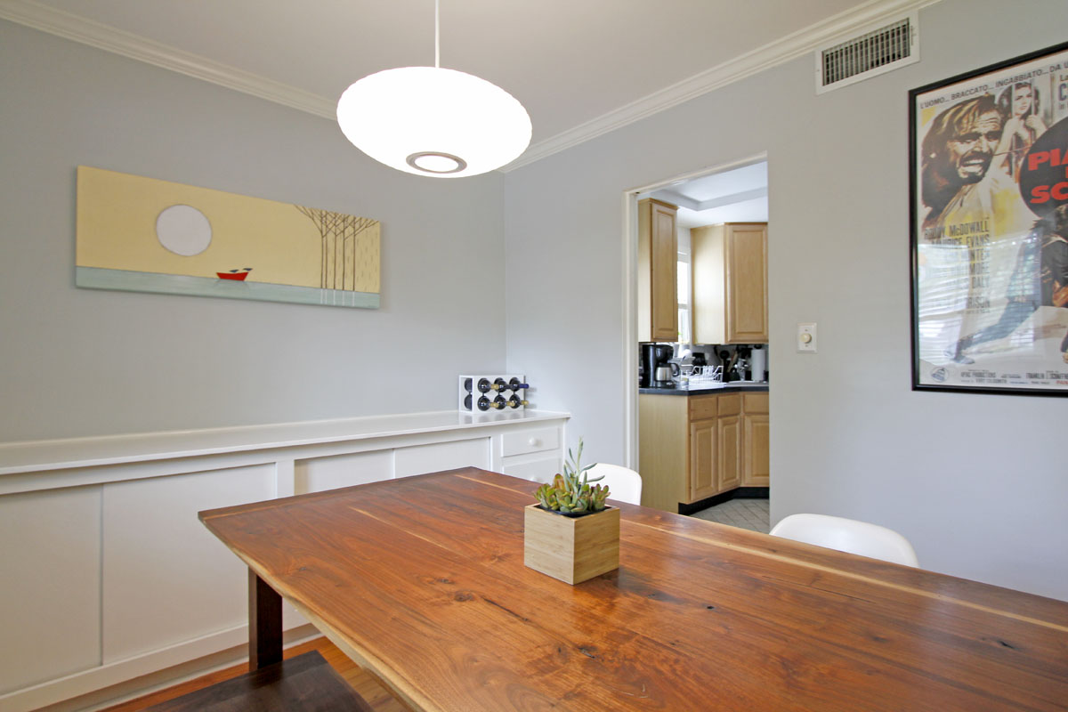 Stacey and Ben's 920 sqft Raleigh Townhome 06