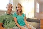 Stacey and Ben's 920 sqft Raleigh Townhome 14