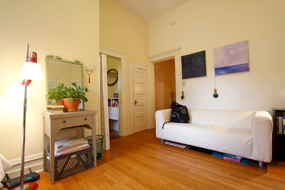 Small Studio Apartment Empty