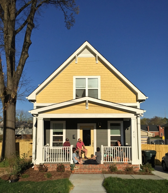 Intentionally Small - Our New Downtown Raleigh Home